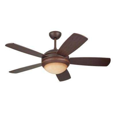 Discus II 44 in. Roman Bronze Ceiling Fan