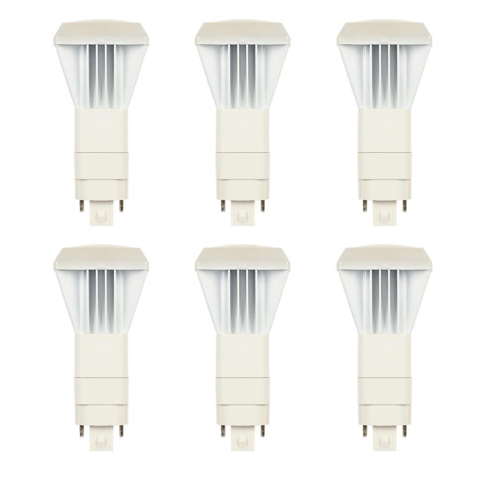 26-Watt Equivalent VPL Vertical Direct Install Dimmable 3500K G24Q/GX24Q 4-Pin LED Light Bulb (6-Pack)