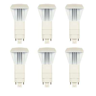 26-Watt Equivalent VPL Vertical Direct Install Dimmable 3500K G24Q/GX24Q 4-Pin LED Light Bulb (6-Pack)