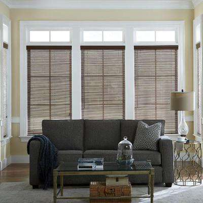 Hampton Bay 1 in. Faux Wood Blinds