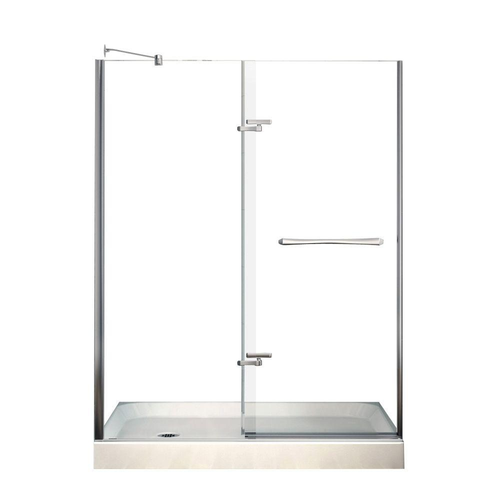 Reveal 30 in. x 60 in. x 76-1/2 in. Alcove Shower