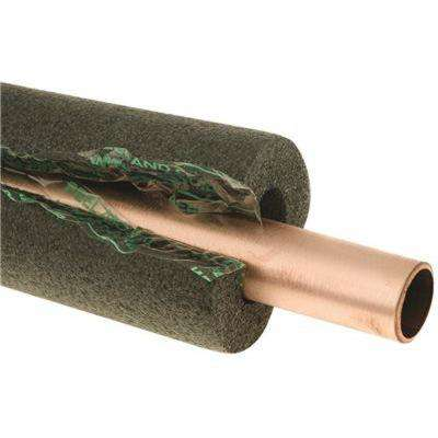 1/2 in. x 3/8 in. Thick Wall x 6 ft. Self Seal Tubular Poly Foam Pipe Insulation
