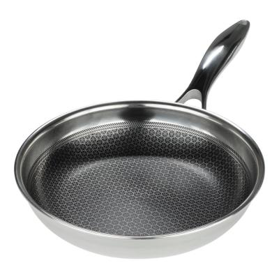 Black Cube 8 in. Stainless Steel Nonstick Frying Pan
