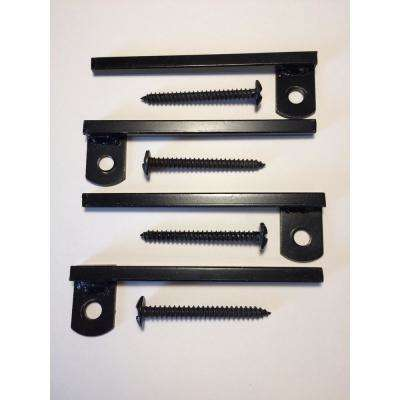 Flush-Mount Window Bar Brackets (4-Pack)