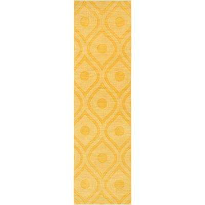 central park zara butter 2 ft 3 in x 10 ft indoor rug