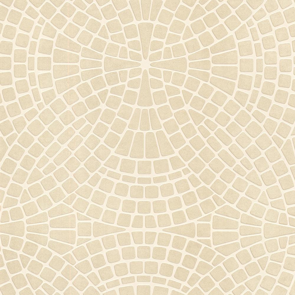 Brewster 8 in. x 10 in. Hanley Sand Mosiac Tile Wallpaper