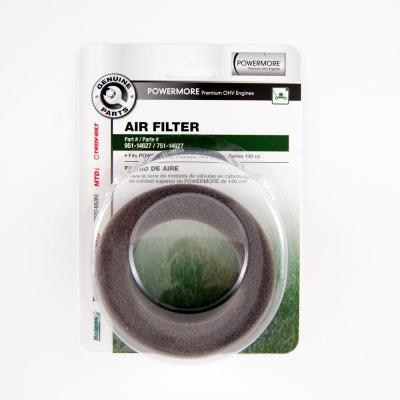Air Filter for Cub Cadet and Troy-Bilt 140cc Premium OHV Engines OE# 751-14627