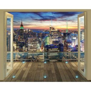 Internet #207036829. Walltastic 120 In. H X 96 In. W New York City Skyline  Wall Mural Part 21