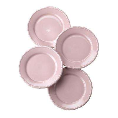 Savannah 4 Piece Pink Salad Plate Set