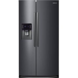 Samsung 24.5 cu. ft. Side by Side Refrigerator in Black Stainless Steel by Samsung