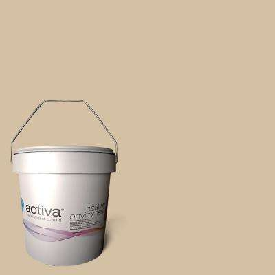 1 gal. Madrid Beige Latex Premium Antimicrobial Anti-Mold Earth Friendly Self-Cleaning Photocatalytic Interior Paint