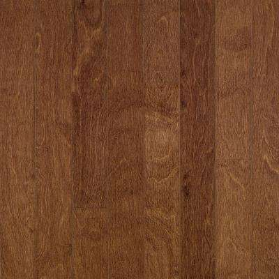 Take Home Sample - Town Hall Exotics Birch Clove Engineered Hardwood Flooring - 5 in. x 7 in.