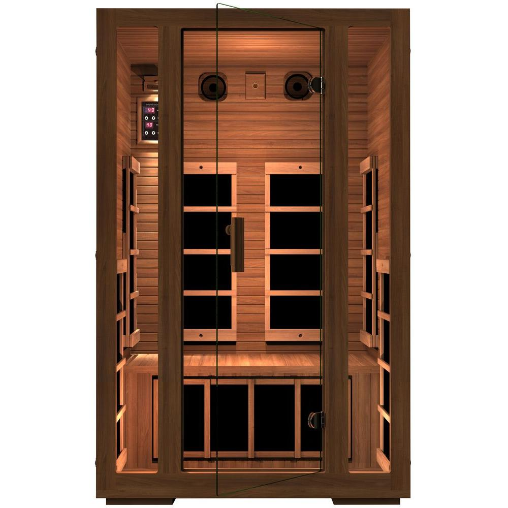JNH Lifestyles Freedom 2-Person Far Infrared Sauna
