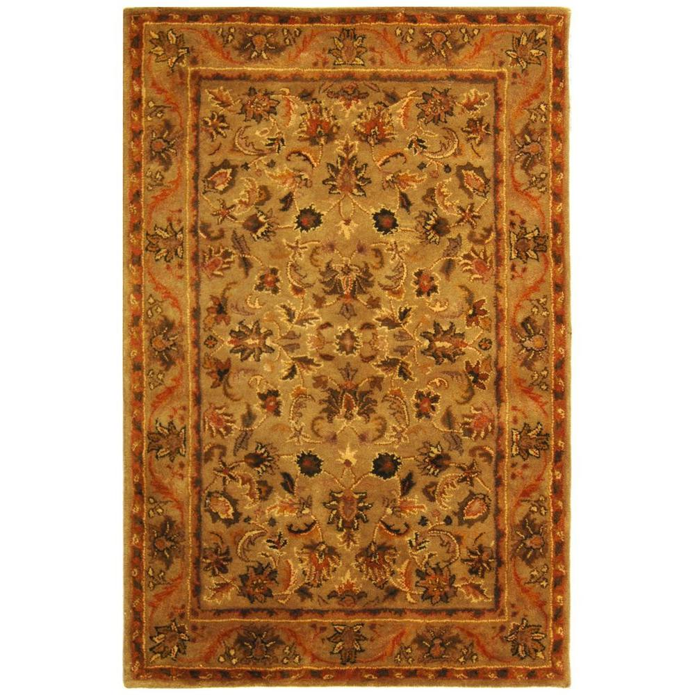 Safavieh Antiquity Olive/Gold 4 ft. x 6 ft. Area Rug