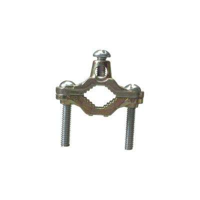 1/2 in. X 1 in. Ground Clamp - Brass (25-Pack)