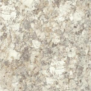 3 in. x 5 in. Laminate Countertop Sample in Spring Carnival with HD Mirage Finish