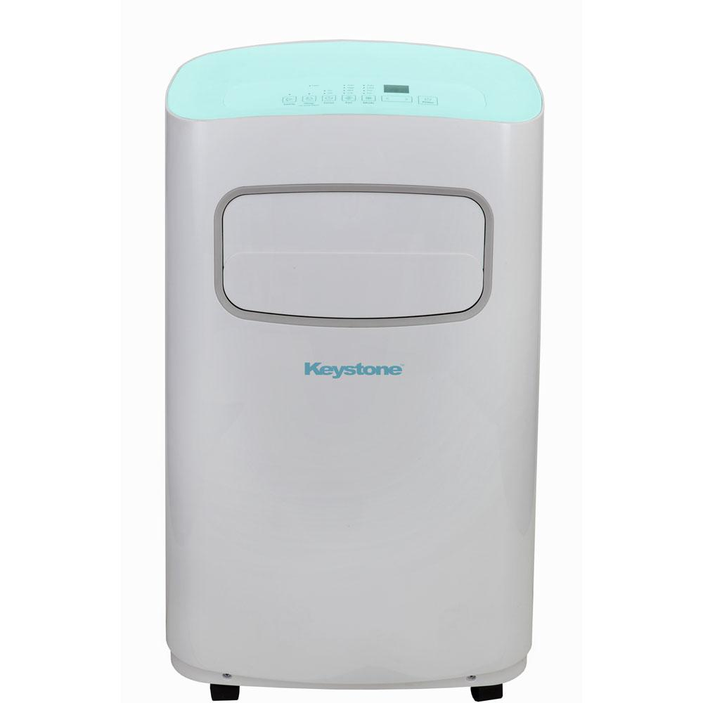 Keystone 12 000 btu portable air conditioner with for 12000 btu window air conditioner home depot