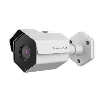 UltraHD 5MP Wired Outdoor POE Bullet IP Security Camera, 98ft Night Vision, 78° Viewing Angle, IP67 Waterproof