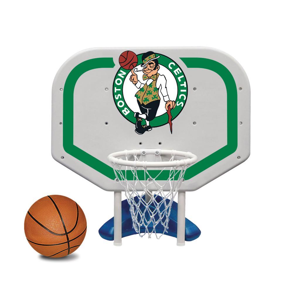 Boston Celtics NBA Pro Rebounder Swimming Pool Basketball Game