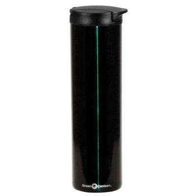 16 oz. Hunter Green Double Wall Stainless Steel Travel Mug (6-Pack)