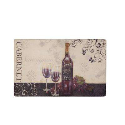 Cook N Comfort 19.7 in. x 31.5 in. Kitchen Mat