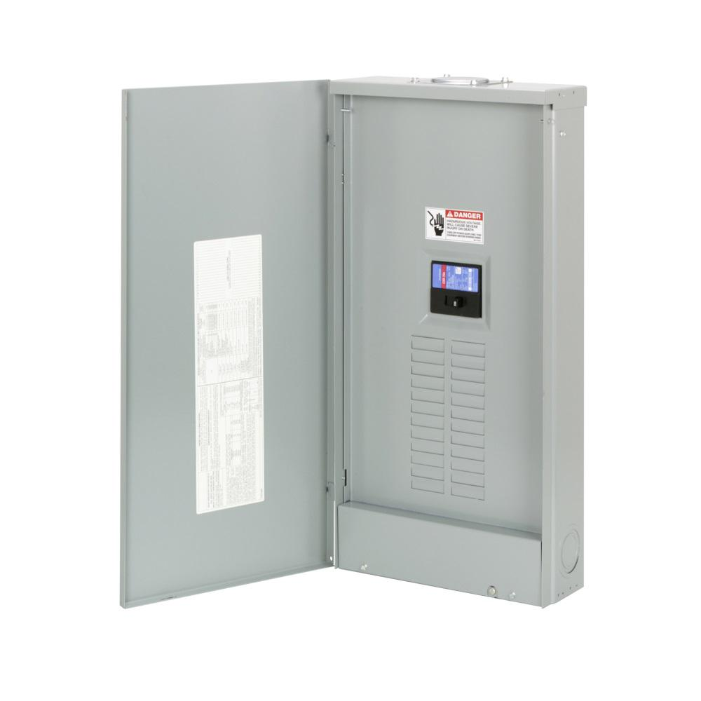 Square D Qo 200 Amp 42 Space Circuit Indoor Main Breaker Plug On Solar Load Center Wiring Diagram Ch 16 Outdoor Neutral
