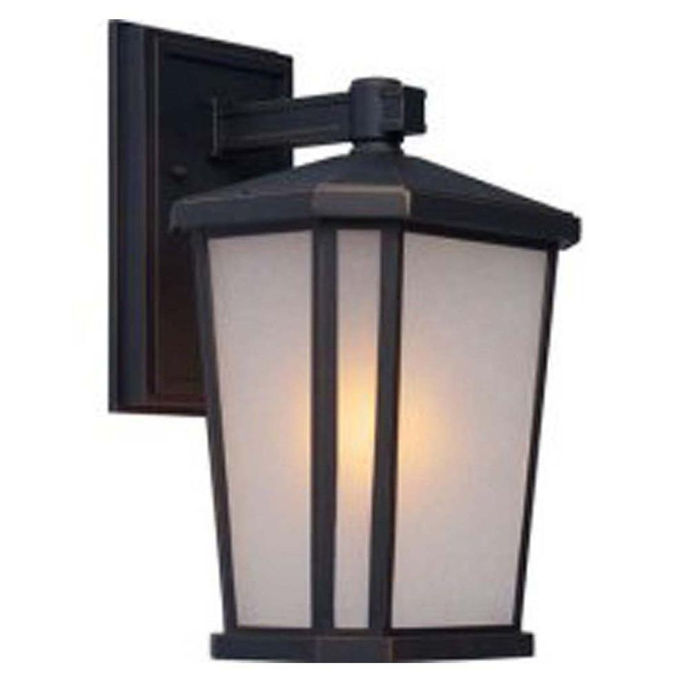 Rostovdon 1-Light Oil Rubbed Bronze Outdoor Wall Sconce