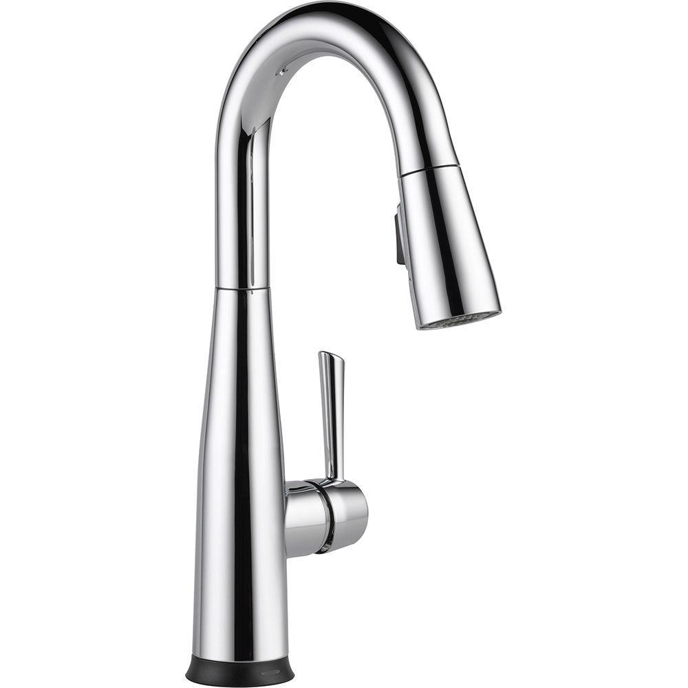 Elements of Design Kitchen Chrome Faucet, Chrome Kitchen