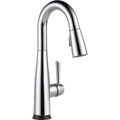 Essa Touch2O Technology Single-Handle Bar Faucet in Chrome with MagnaTite Docking