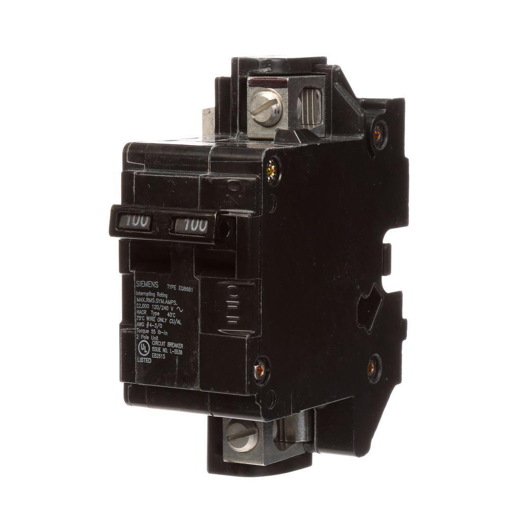 Siemens 100 Amp Main Breaker Conversion Kit
