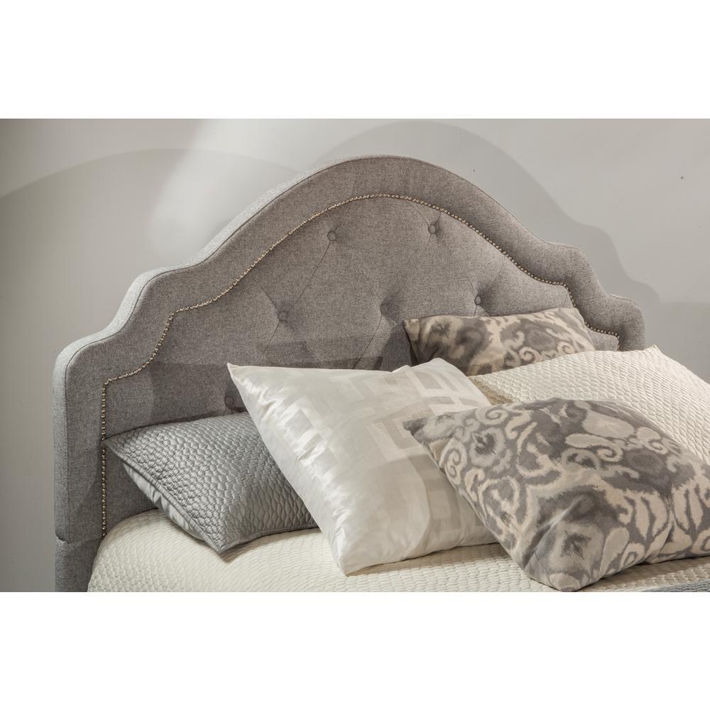 Hilale Furniture Belize Light Gray Queen Headboard