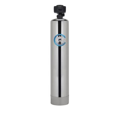 Water Filtration System Oxygen Injection for Removal of Iron and Sulfur (System Treats up to 6 Bathrooms)