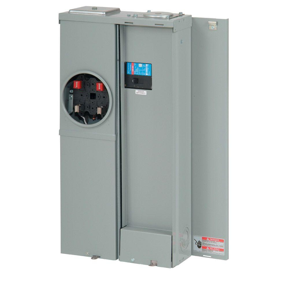 Eaton Ch 200 Amp 8 Space 8 Circuit Euserc Main Breaker Meter Breaker Ranch Panel Cmber88b200bts The Home Depot
