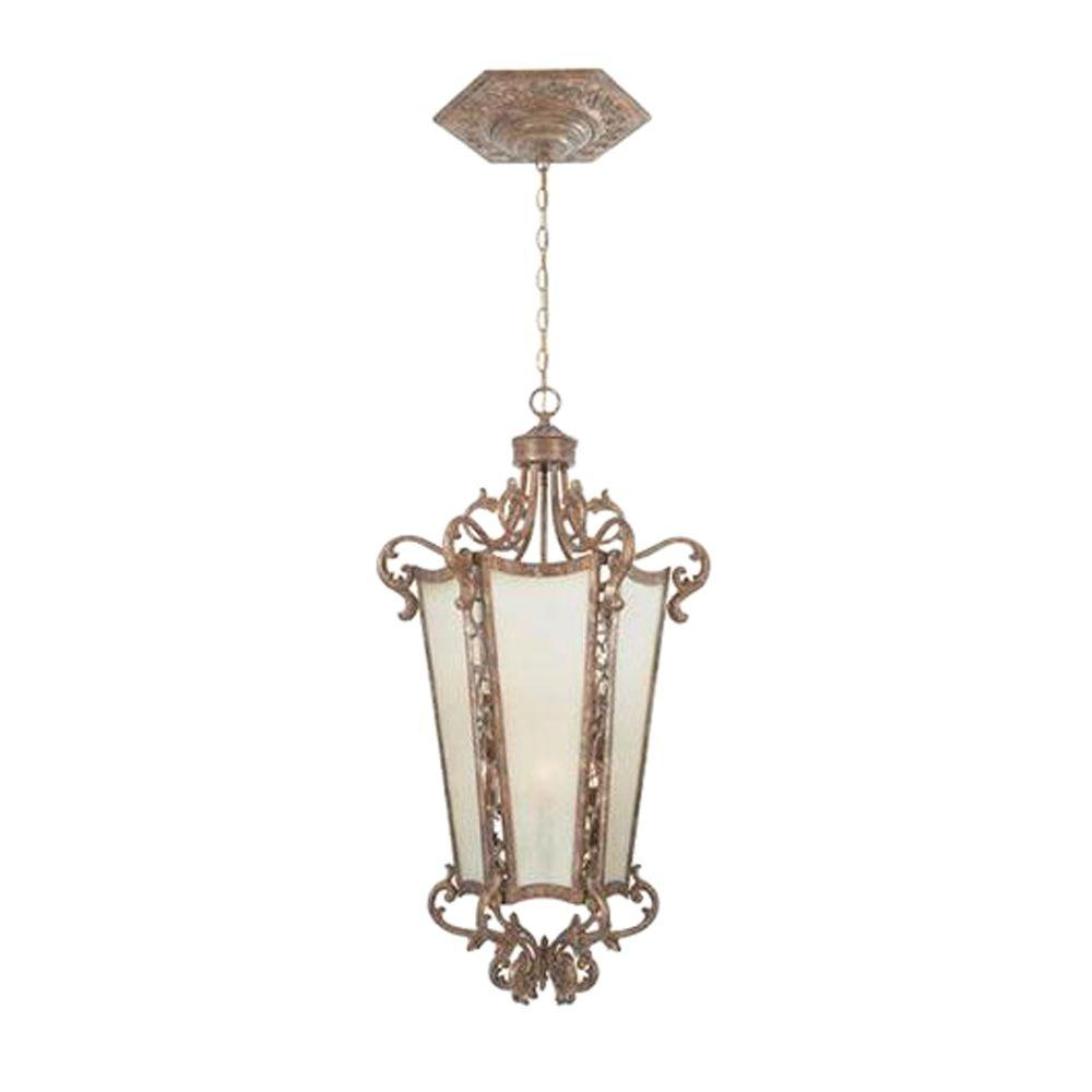 Designers Fountain Toulouse Collection 6-Light Valencia Gold Hanging Pendant