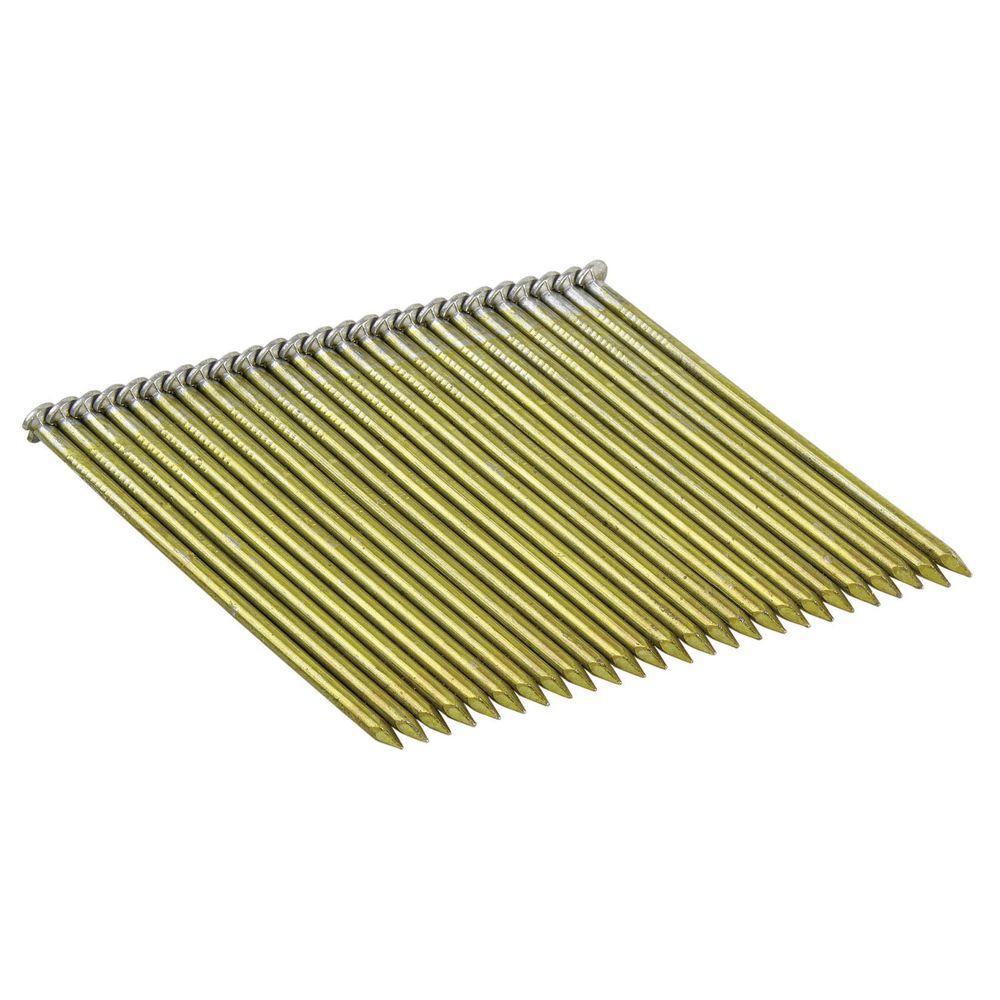 Dewalt 2 12 in x 15 gauge glue bright steel angled finish nails 2 12 in x 0120 gauge wire weld galvanized ring greentooth Images