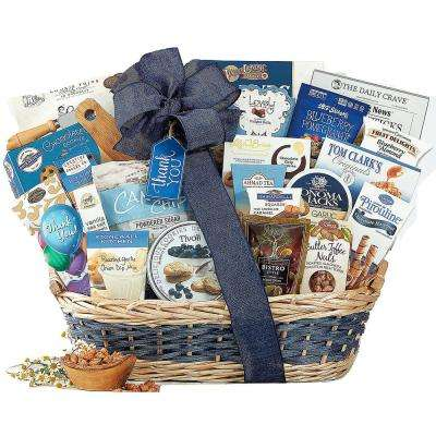 Many Thanks Appreciation Gourmet Gift Basket Thank You
