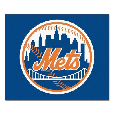 New York Mets 5 ft. x 6 ft. Tailgater Rug