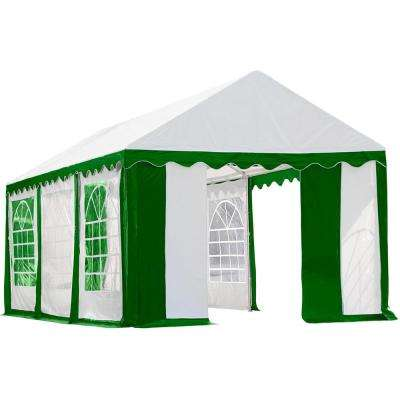 10 ft. x 20 ft. Green/White Enclosure Kit with Windows for Party Tent (Party Tent Sold Separately)