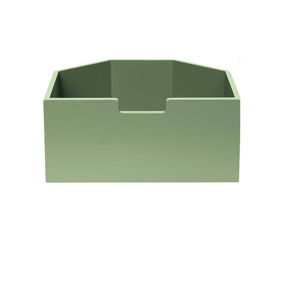 Martha Stewart Living Craft Space 3 lb. Tall Rhododendron Leaf Angled Cubby Drawer