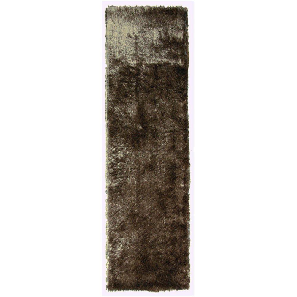So Silky Meteorite 4 ft. x 11 ft. Area Rug