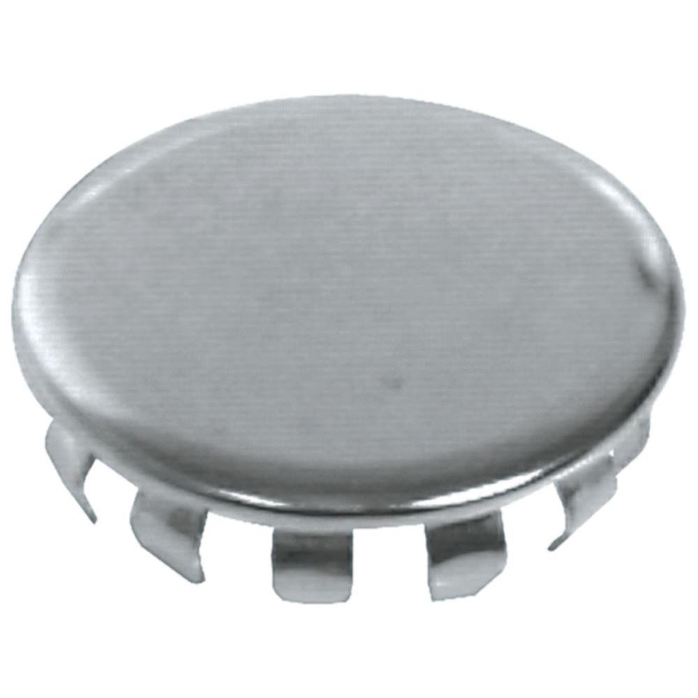 1 2 In Chrome Hole Plug 5 Pack