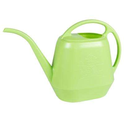 Watering Can 144 oz. Honey Dew Plastic Aqua Rite Collection