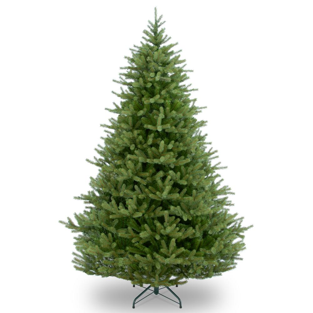 National Tree Company 4 Ft Aspen Spruce Tree With Clear
