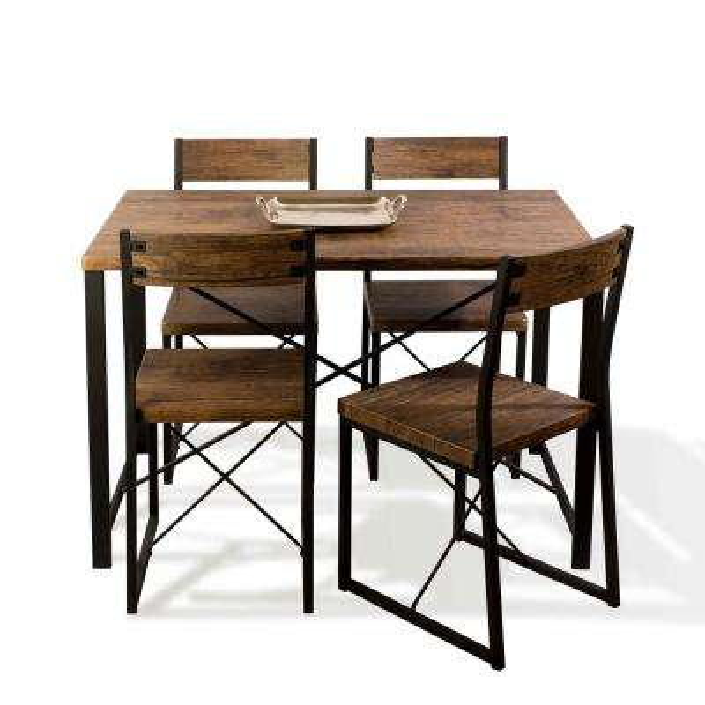Urban Blend 5-piece Wood Dining Set