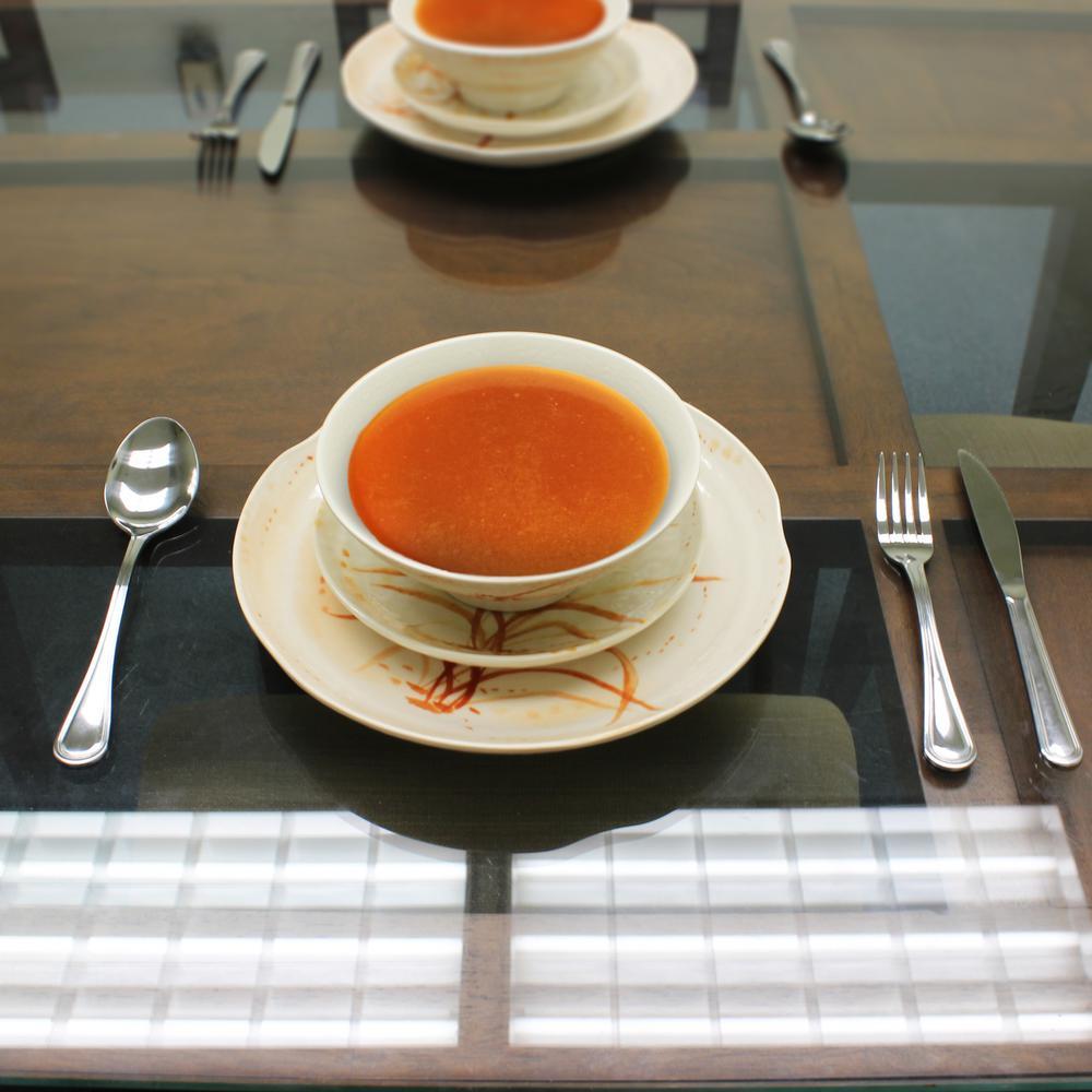Restaurant Essentials Gold Orchid Dinnerware Set (12 Piece)