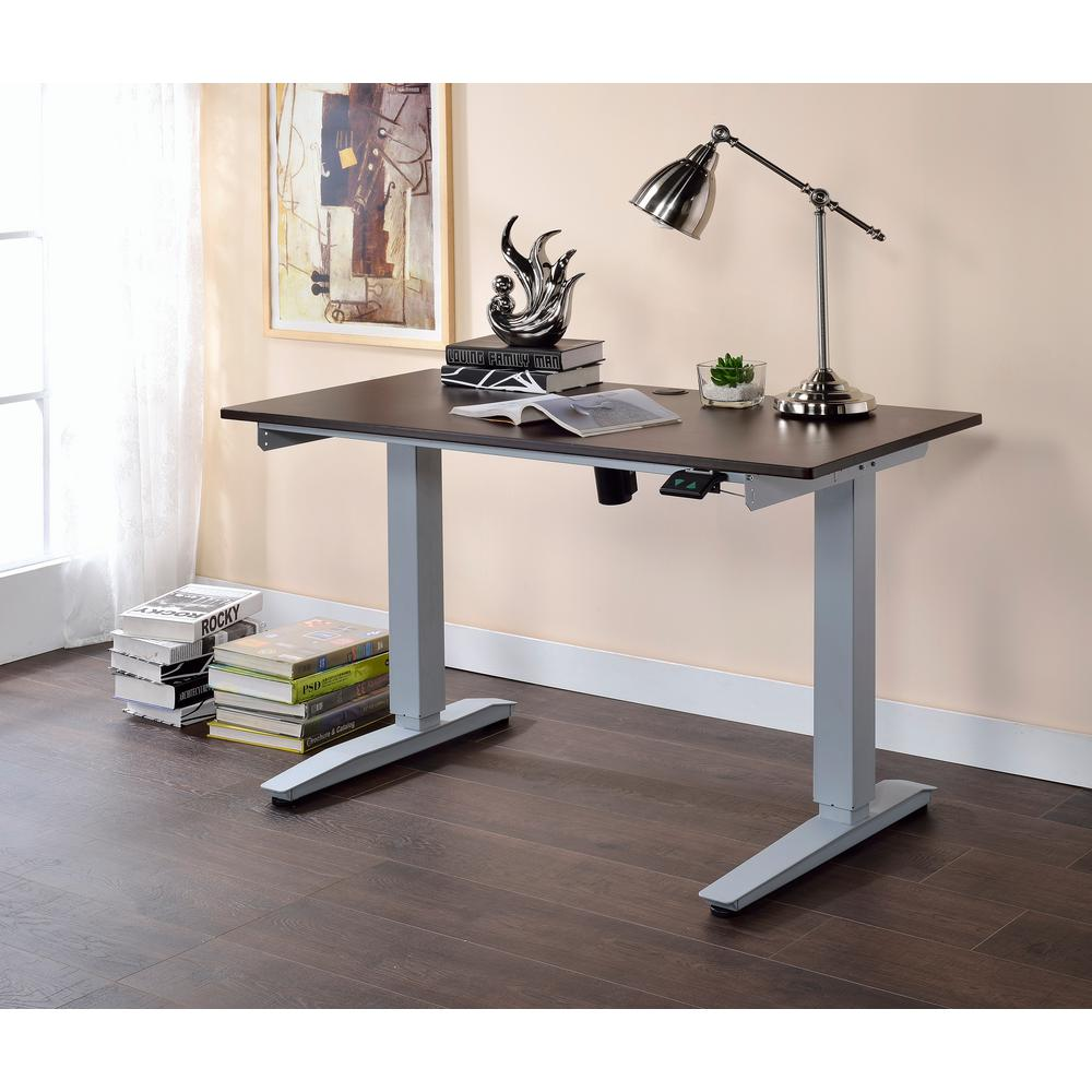 Acme Furniture ACME Bliss Power Lift Desk, Espresso-92380 - The ...