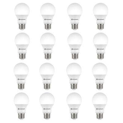 100-Watt Equivalent A19 Non-Dimmable LED Light Bulb Soft White (16-Pack)