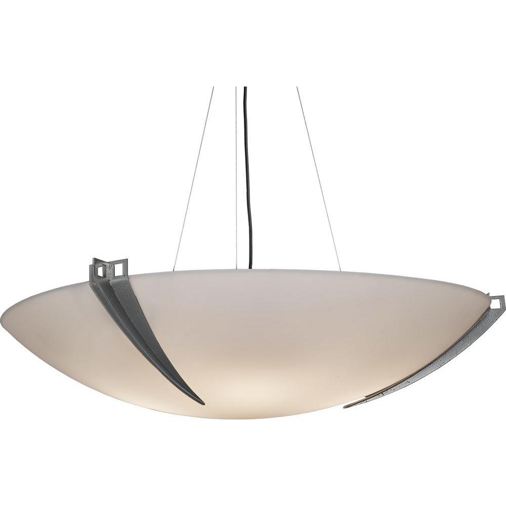 Filament Design 8-Light Smoked Silver Ceiling Pendant