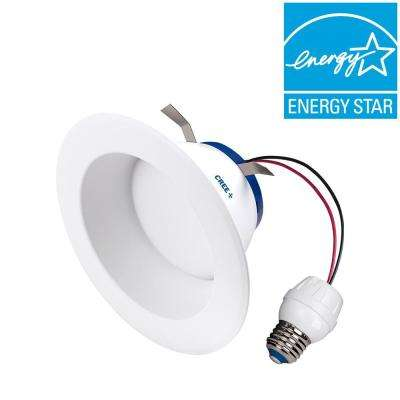 65W Equivalent Soft White (2700K) 6 in. Dimmable LED Retrofit Recessed Downlight