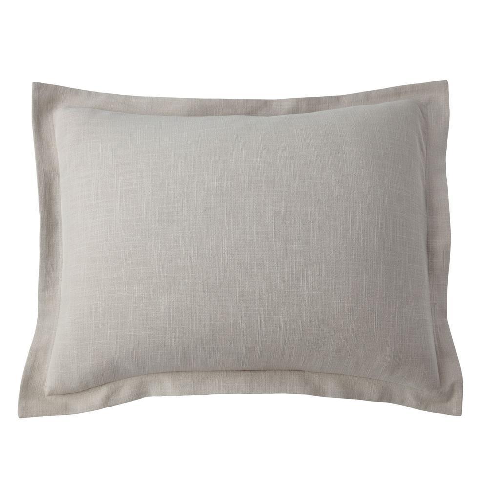 Asher Pumice Solid Cotton Standard Sham